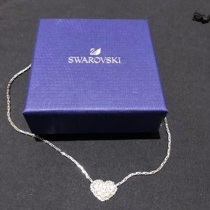 Retired Swarovski Heart Necklace